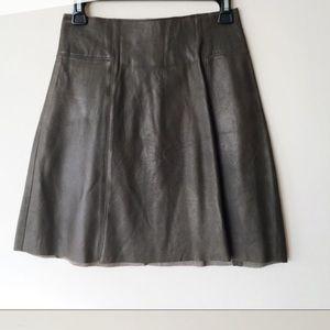 Zara | Sheep leather skirt